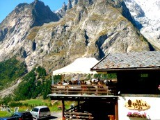 Restaurant in and around Courmayeur, Val Ferret and Val Veny