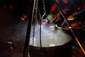 Igloo activity evenings fondue