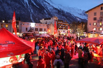 Chamonix en Rouge - 2016 event