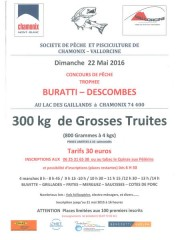 Concours de pêche à Chamonix