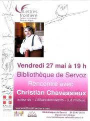 Soirée rencontre avec Christian Chavassieux
