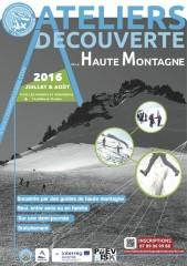 Ateliers Découverte : Haute Montagne