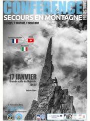 Conférence : Secours en montagne