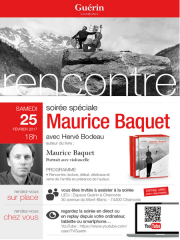 Soirée spéciale avec Maurice Baquet