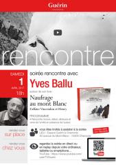 Soirée rencontre avec Yves Ballu