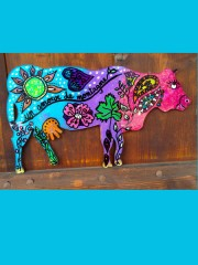 Atelier créatif : Peinture sur vache