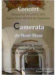 Concert de la Camerata du Mont-Blanc