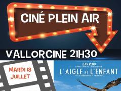 Cinéma en plein air à Vallorcine