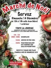 Marché de Noël à Servoz