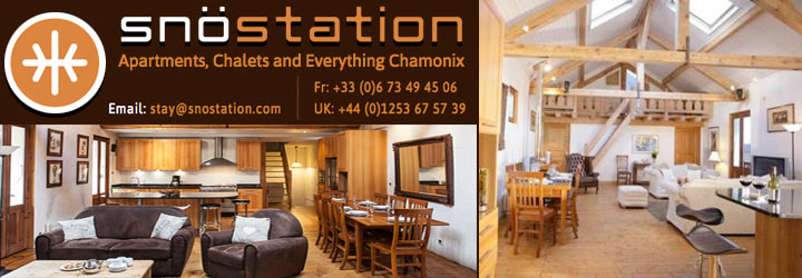 Chamonix Aparthotel - Ski in ski out !!!
