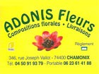 adonis flower shop in chamonix