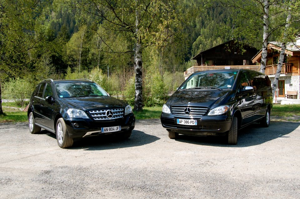 Private Transfers Specialist between Geneva Airport and Chamonix