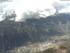 Le sommet à 3842m de l'Aiguille du Midi à Chamonix