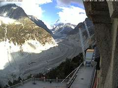 Webcam Train de Montenvers Mer de Glace