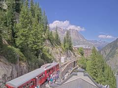 Hotel du Montenvers Mer de Glace Webcam