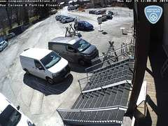 La Flegere Ski Resort Car parking webcam