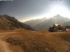 chamonix brevent ski resort webcam (2000m)