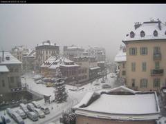 Chamonix Town Center Place Balmat Webcam View