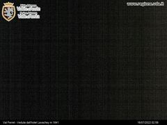Webcam Val Ferret Lavachey Ski de Fond