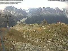 Flegere ski resort webcam