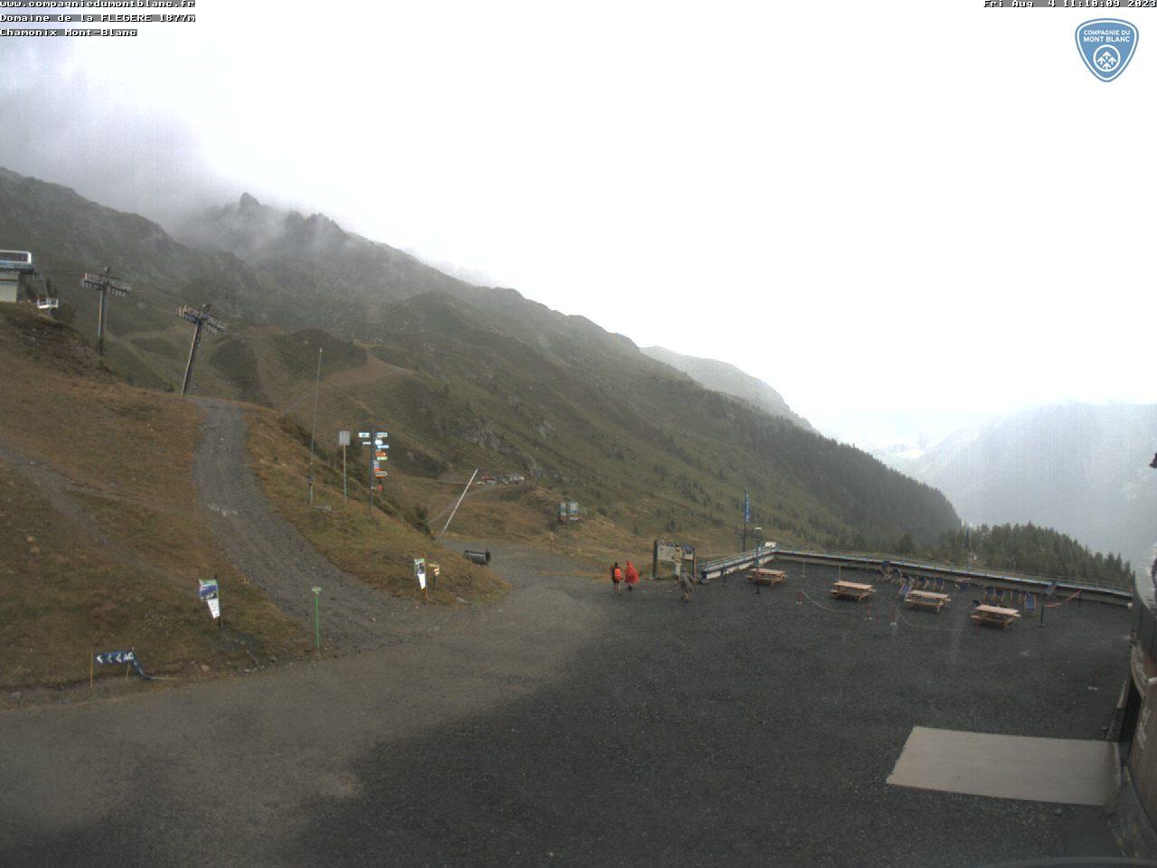 Chamonix Flegere area webcam - ski station