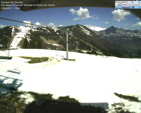 Le Prarion Les Houches Webcam Feed