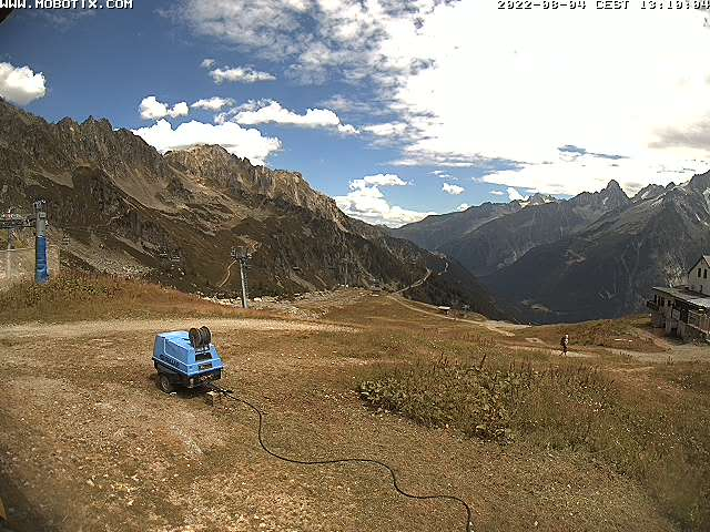 Brevent Ski Resort Webcam feed