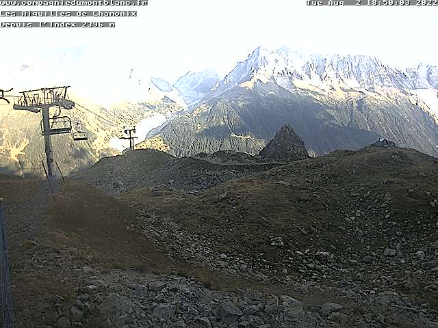 Webcam of Flegere Ski Resort from the Index