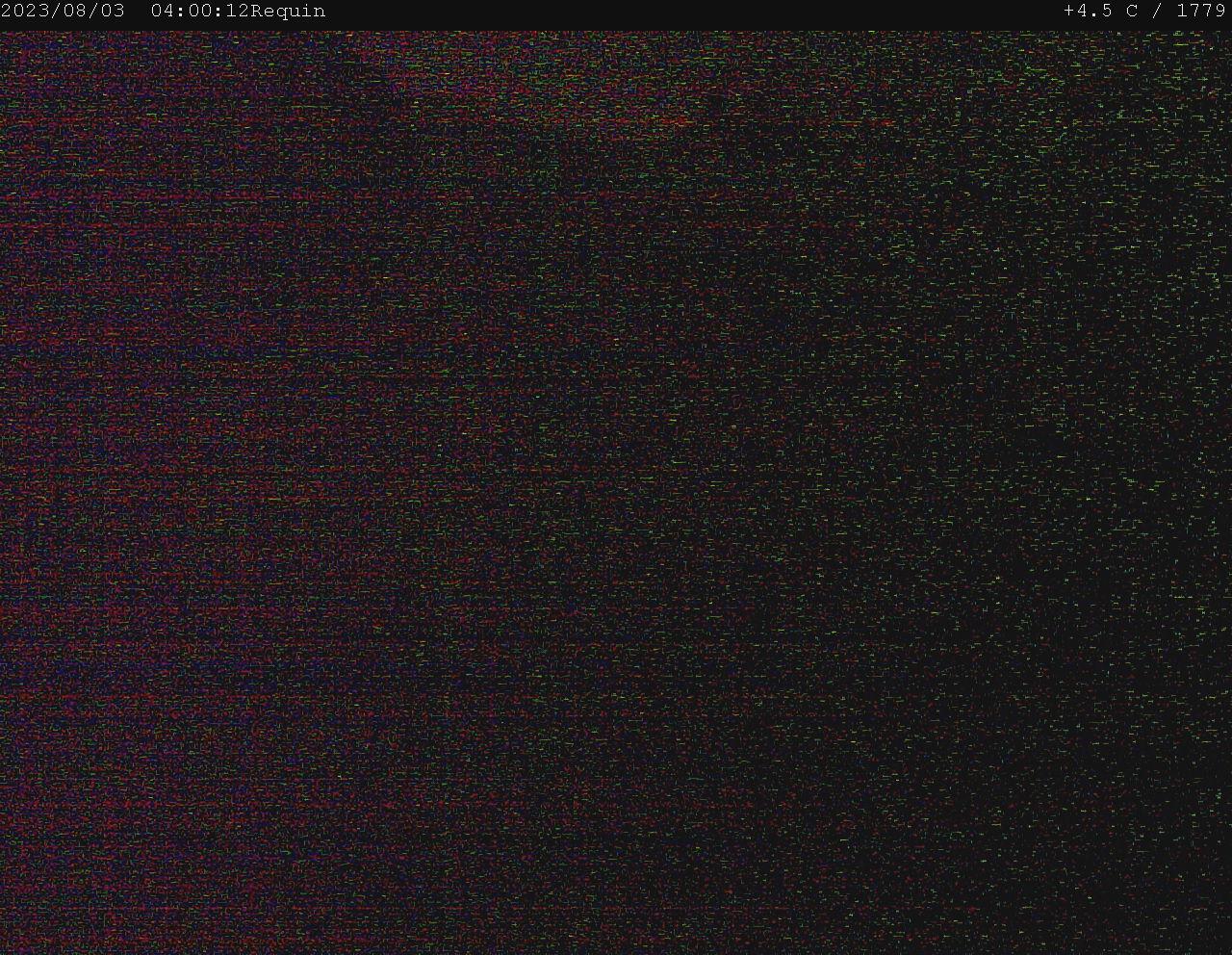 Webcam looking at Glacier du Géant Vallee Blanche Chamonix
