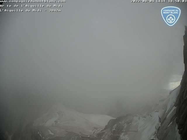 Webcam Aguille du Midi Ridge