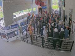 Gare de Départ du Téléphérique de l'Aiguille du Midi à Chamonix