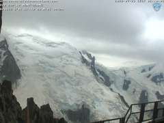 Mont Blanc view webcam