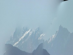View of Mont Blanc Range Webcam